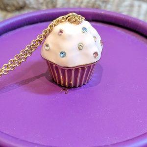 Kate Spade Take The Cake Cupcake Necklace